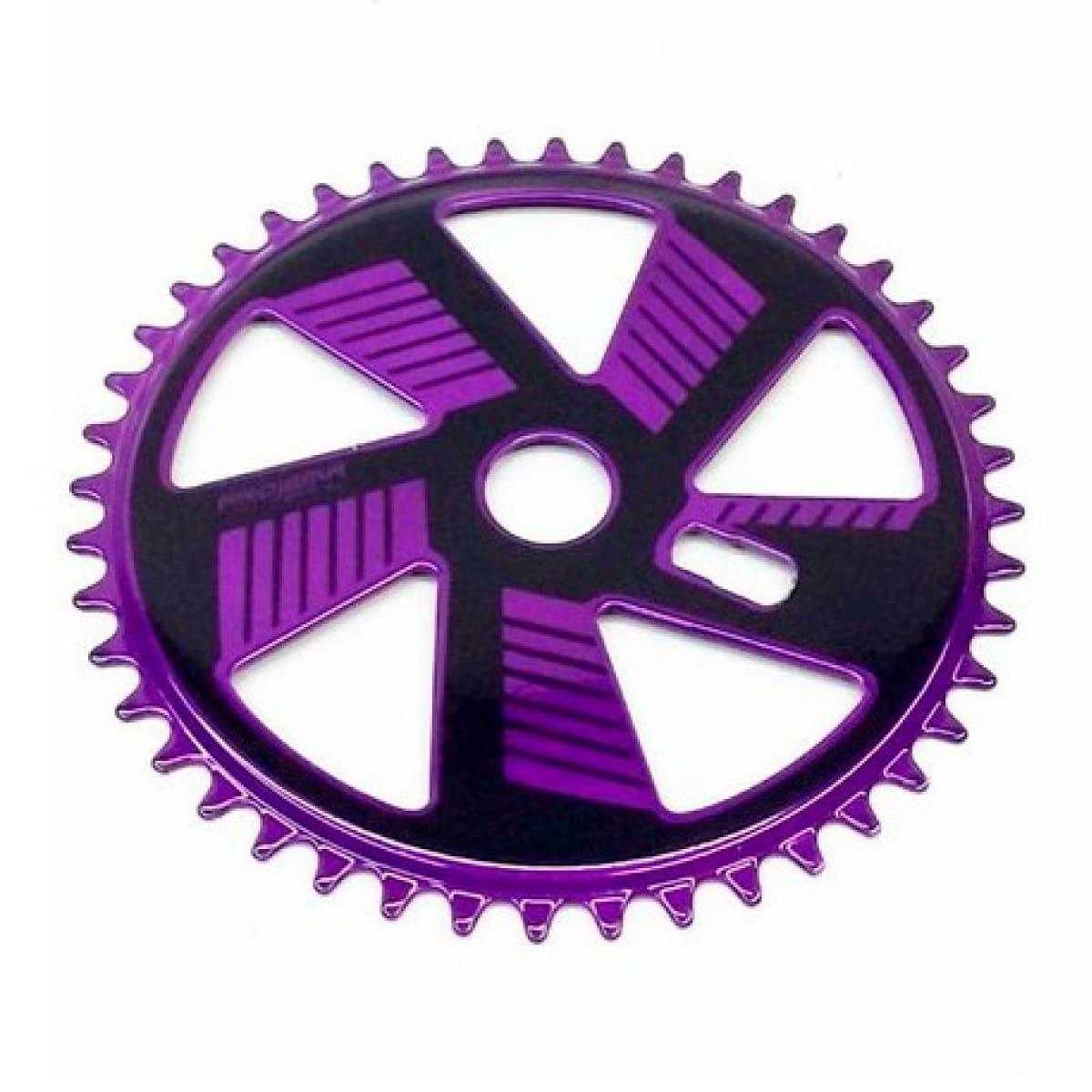 Coroa Projema 43D Spiral Preto E Violeta