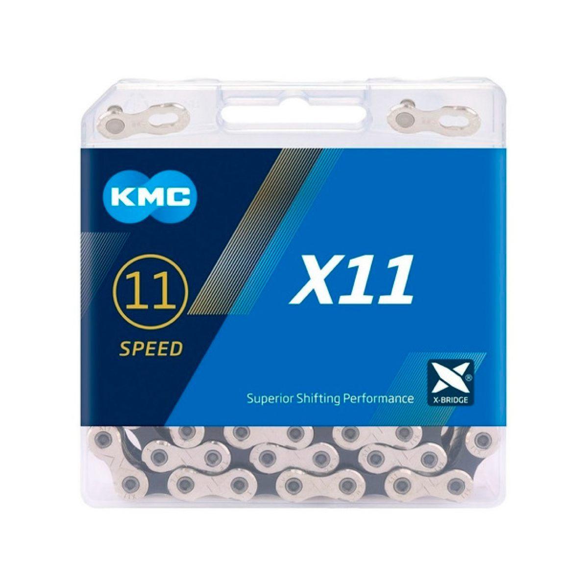 Corrente KMC X11 11V Index Prata
