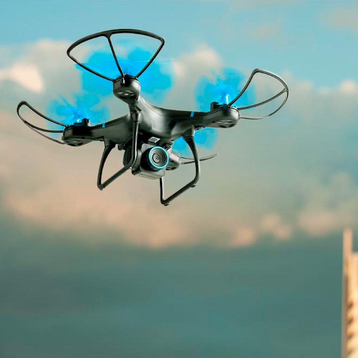 Drone Atrio Bird HD Alcance 80 metros Autonomia 22 minutos