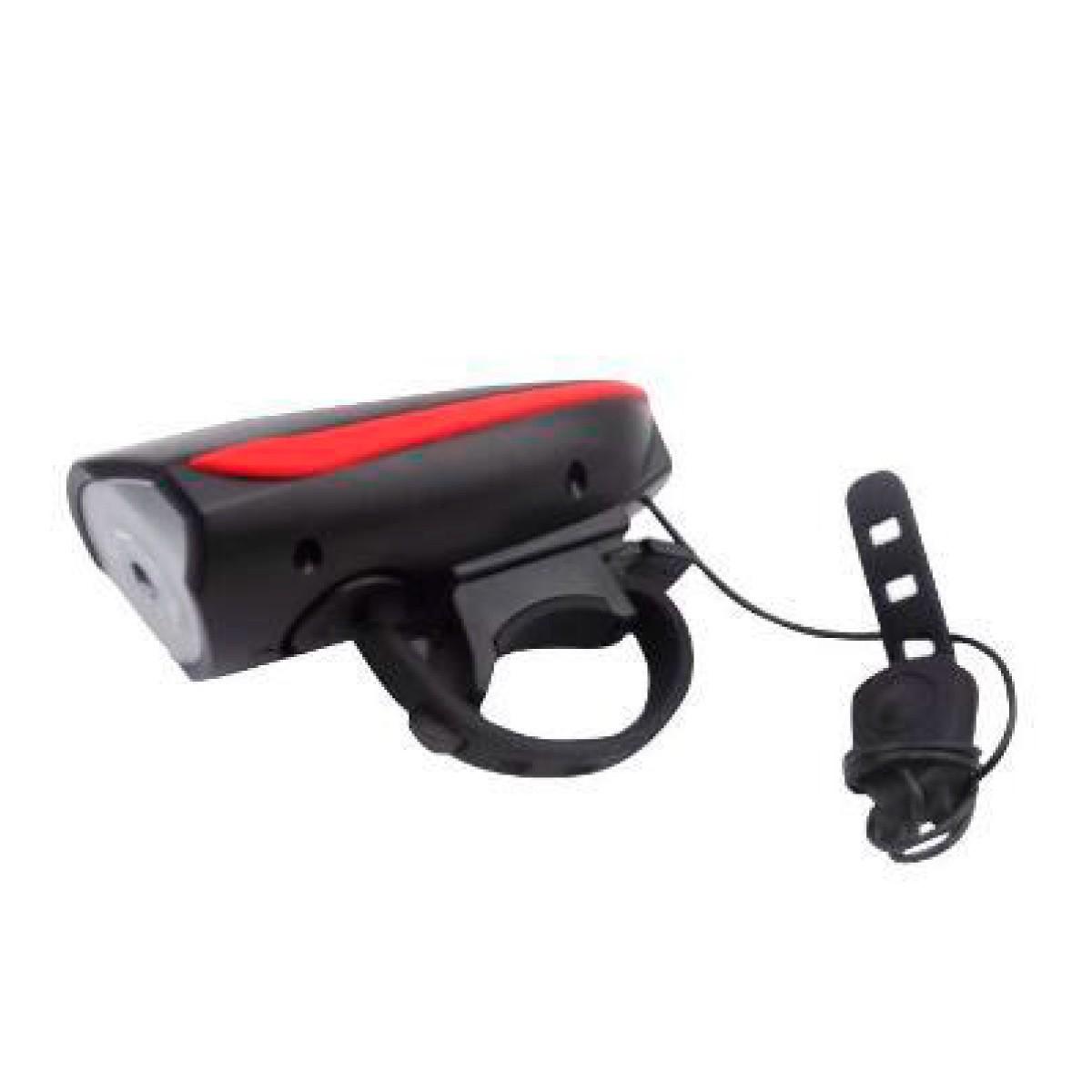 Farol USB com buzina 250 Lumes Vermelho