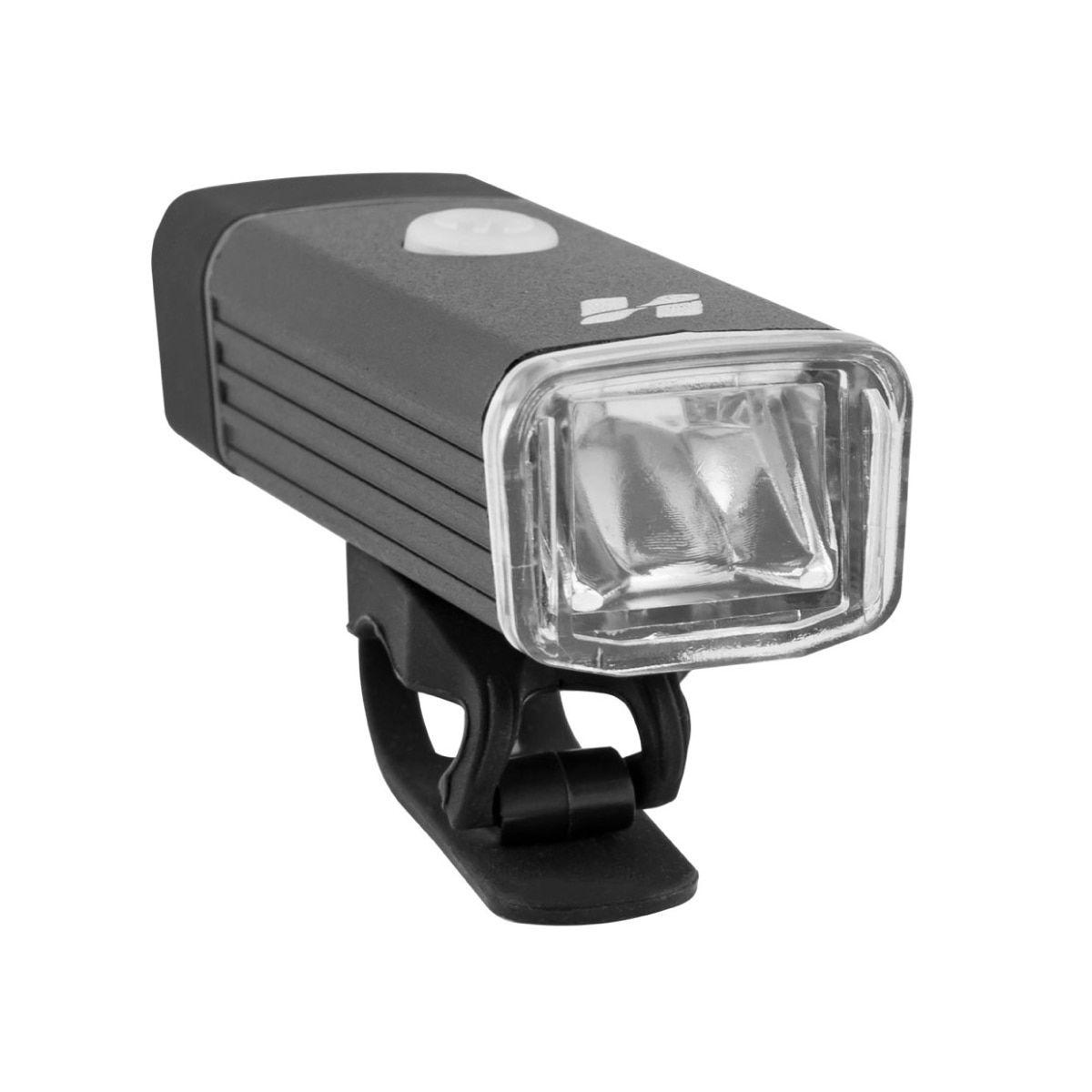 Kit High One MTB Farol 180 Lumens + Vista Ligth 5 Funções USB