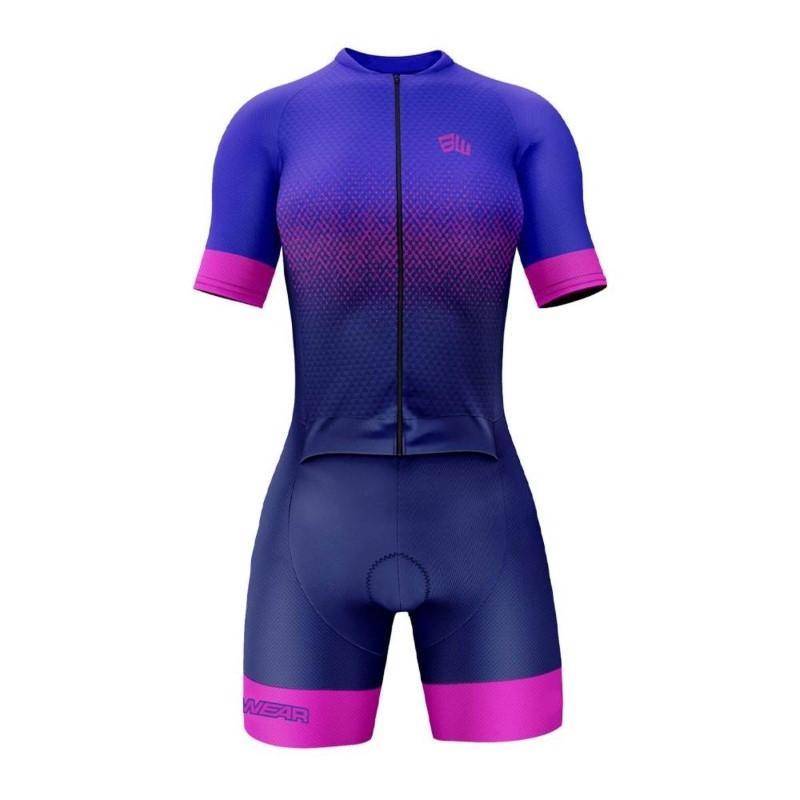 Macaquinho Feminino Evoc Bike Wear Azul
