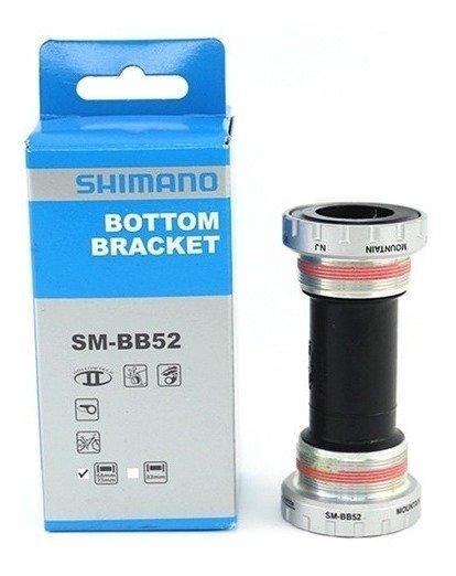Movimento Central Shimano SM-BB52 BSA Hollowtech