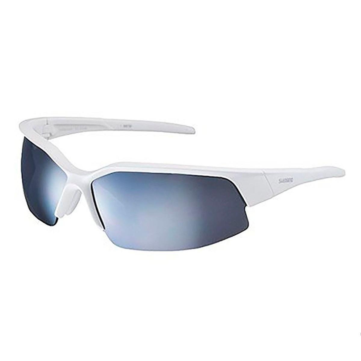 Oculos Shimano Branco Lente Cinza
