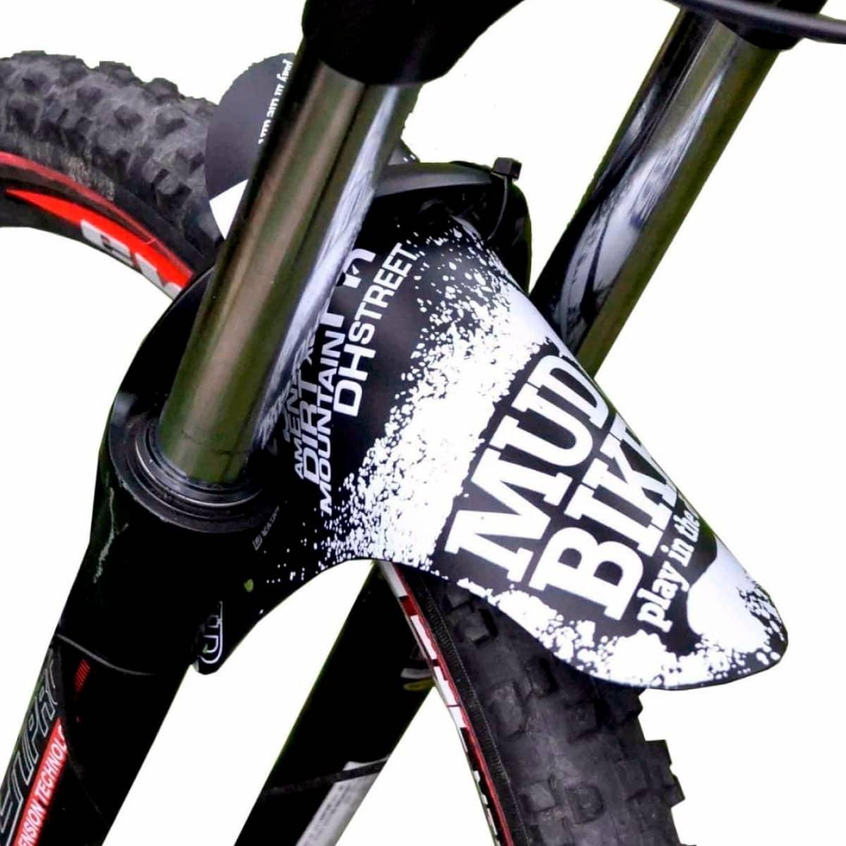 Paralama Mtb Aro 29 e 26 Mud Bike Transparente