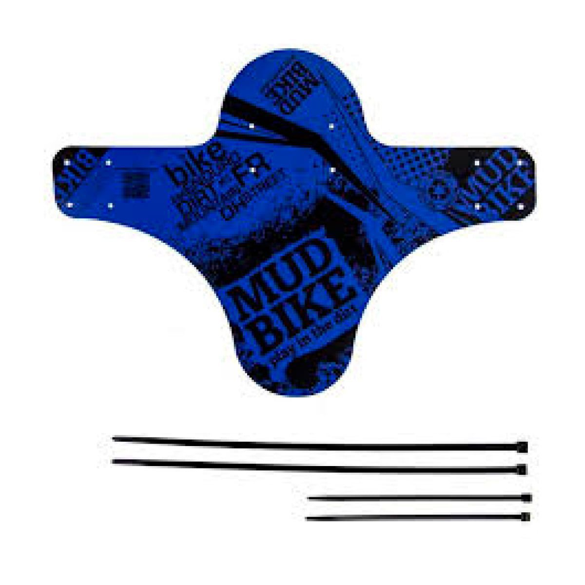 Paralama Mudbike Dianteiro Azul
