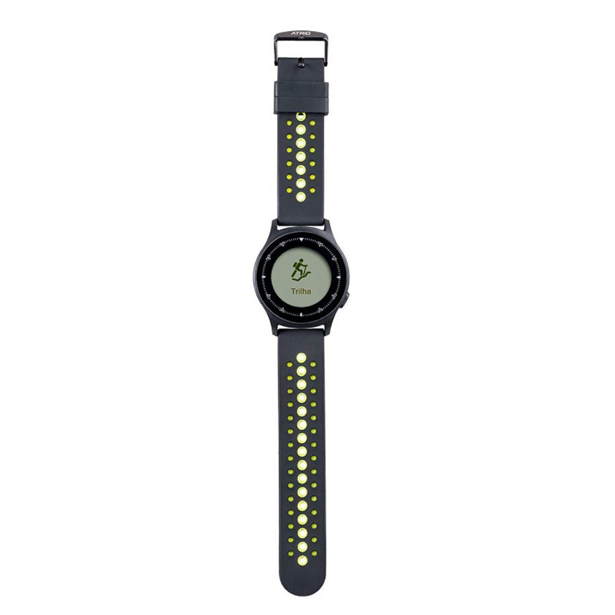 Smartwatch  Atrio Sportwatch Chronus Always On TouchScreen A Prova D'Água