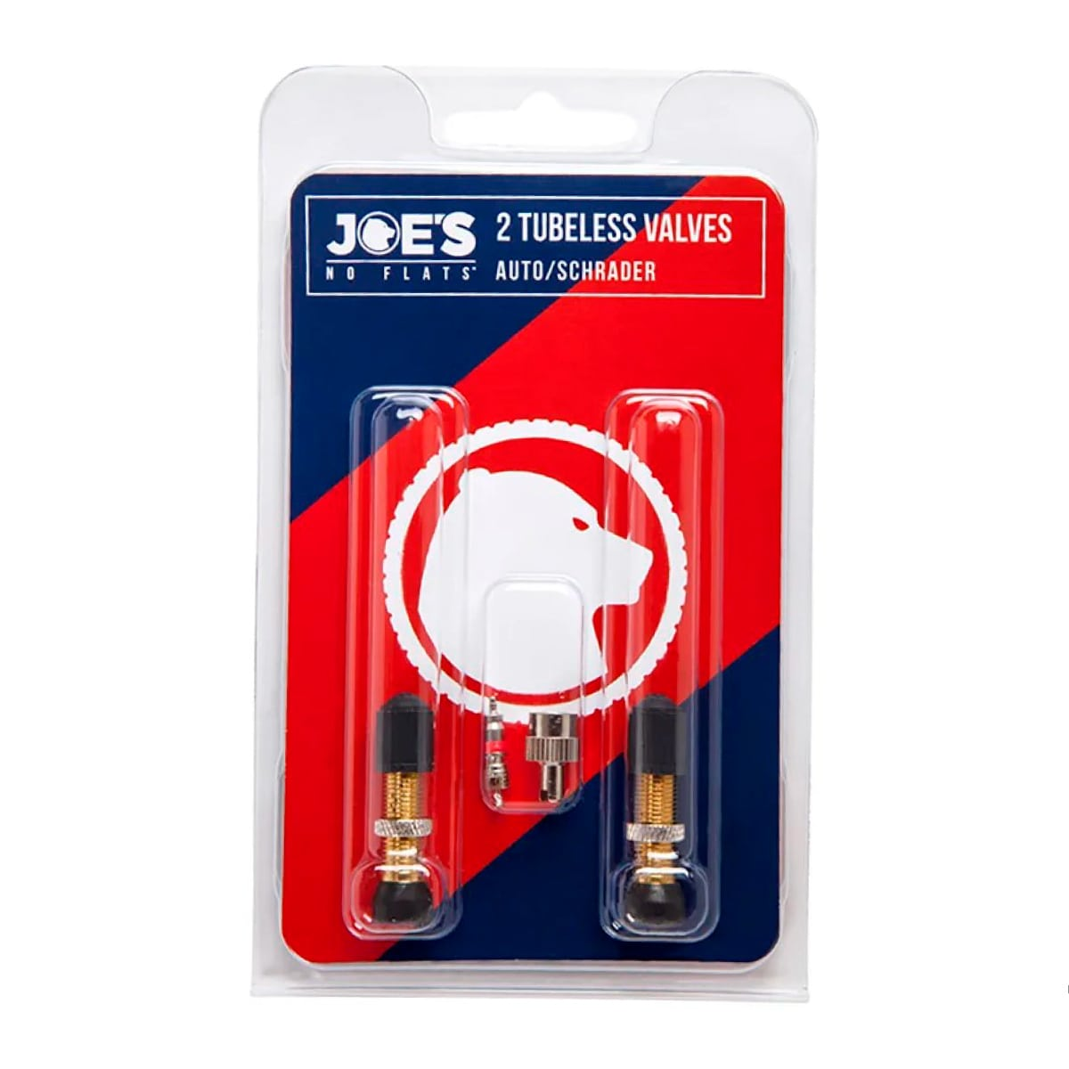Valvula Tubeless Joes No Flats Aluminio Preto 36mm