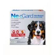 Anti pulgas e Anti carrapatos Nexgard 25,1 a 50kg Cães com 1 Comprimido