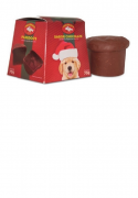 Chocodogs - Panetone para cães sabor chocolate 70 gramas