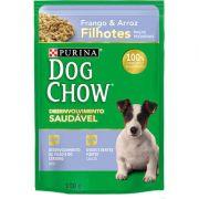 Ração úmida Dog Chow 100 gramas para filhotes  Frango e Arroz raças pequenas