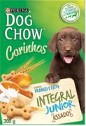 Petisco Dog chow Junior 300 gramas