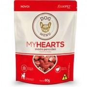 Petisco My Hearts - Meu Coração - Para cães 60 gramas - Loupet