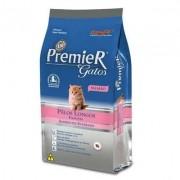 Premier gatos filhotes Pelos Longos sabor frango 500 gramas