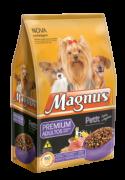 Ração para cães adultos Magnus Premium pequeno porte Petit  Carne e Vegetais