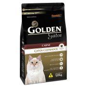 Ração para gato Golden castrados sabor carne 1kg
