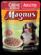 Ração úmida Magnus Carne 85 gramas
