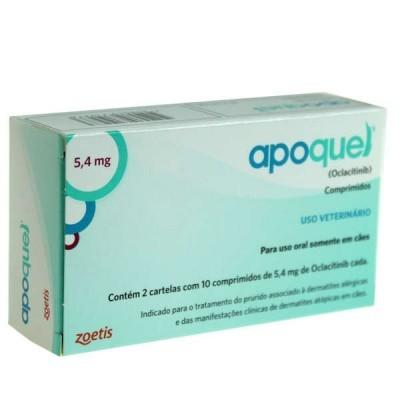 Apoquel 5,4mg 20 comprimidos