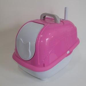 Banheiro Fechado Cat Box Pop  Plast Pet