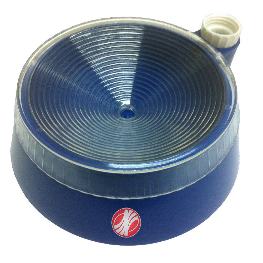 Bebedouro inteligente JetaPlast Azul com adaptador