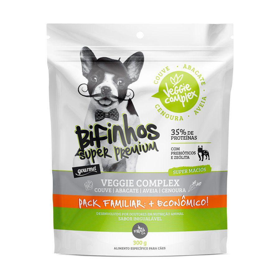 Bifinho super premium Veggie Comples Pack Familiar 300 gramas