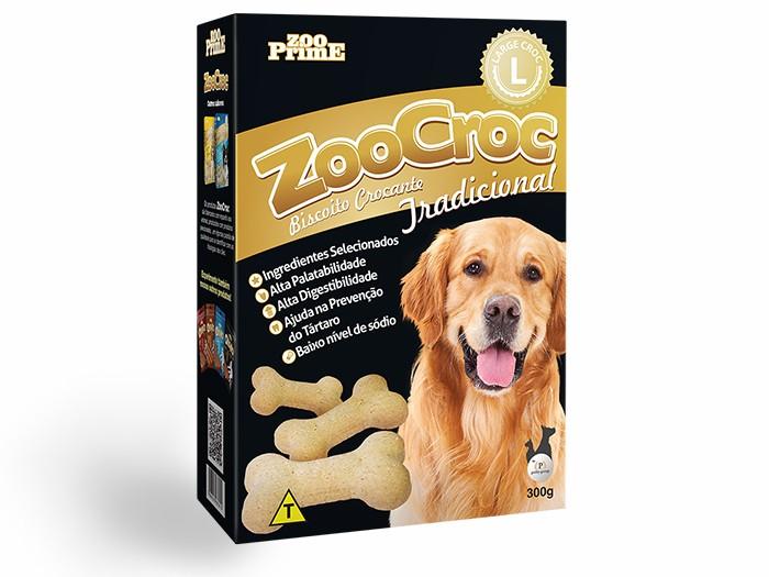 Biscoito Zoocroc Tradicional Raças Grandes