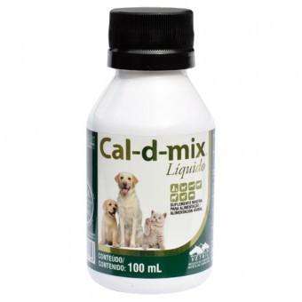 Cal-D-Mix 100ml - Suplemento vitamínico de Cálcio