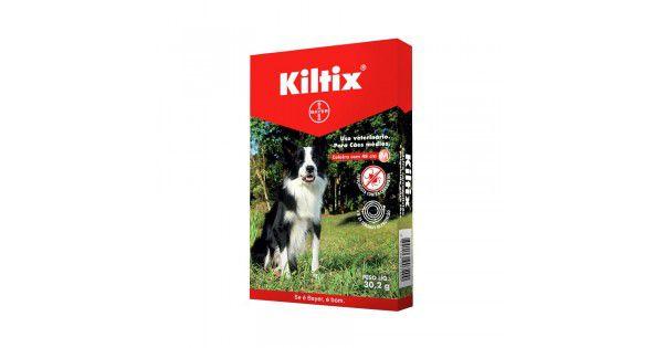 Coleira Kiltix 48 cm para cães médios