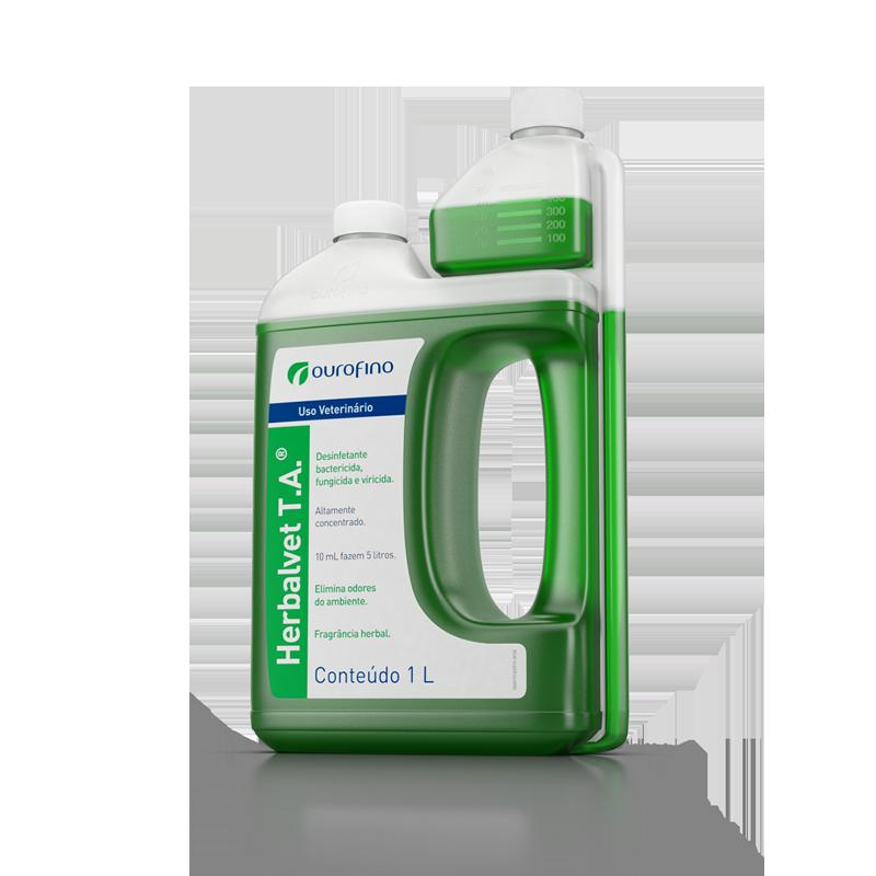 Desinfetante residencial Herbalvet 1 Litro
