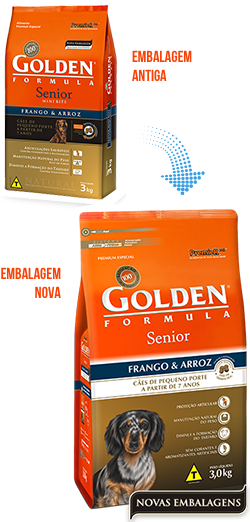 Golden Adulto Senior Raças Pequenas ( Minibits)