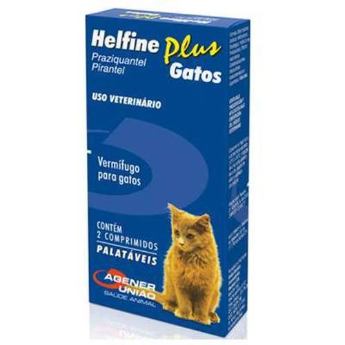 Helfine Gatos 2 comprimidos