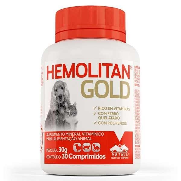 Hemolitan Gold Comprimido - 30 comprimidos