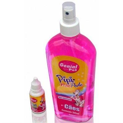 Kit Educador Pipi Pode (20ml) + Pipi Não Pode (500ml) Genial Pet