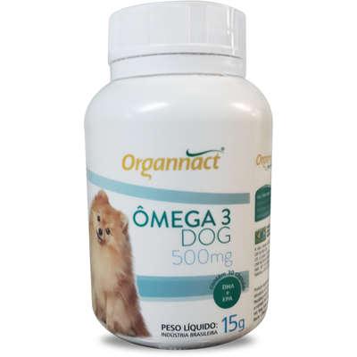 Organact Ômegas 3 DOG 500mg - 30 comprimidos
