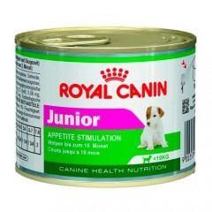 Patê Mini Junior - Ração úmida Royal Canin Junior 195 gramas