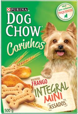 Petisco Dog Chow Mini 500 gramas