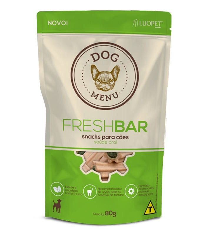 Petisco para cães Fresh Bar 80 gramas