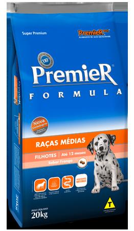 Premier Raças Médias Filhotes 20kg