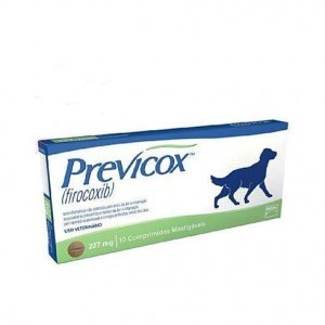 Previcox Dog 227mg 10 comprimidos Mastigáveis