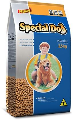 Ração Cães Adulto Special Dog Adultos 20 kg (NOVA EMBALAGEM)