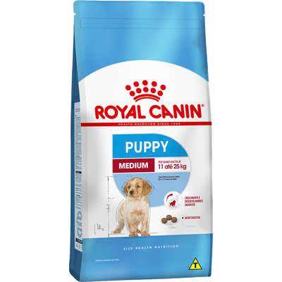 Ração para cães filhotes Royal Canin Medium 15kg