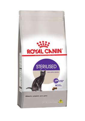 Ração para gatos adultos castrados Royal Canin Sterelised 1,5kg