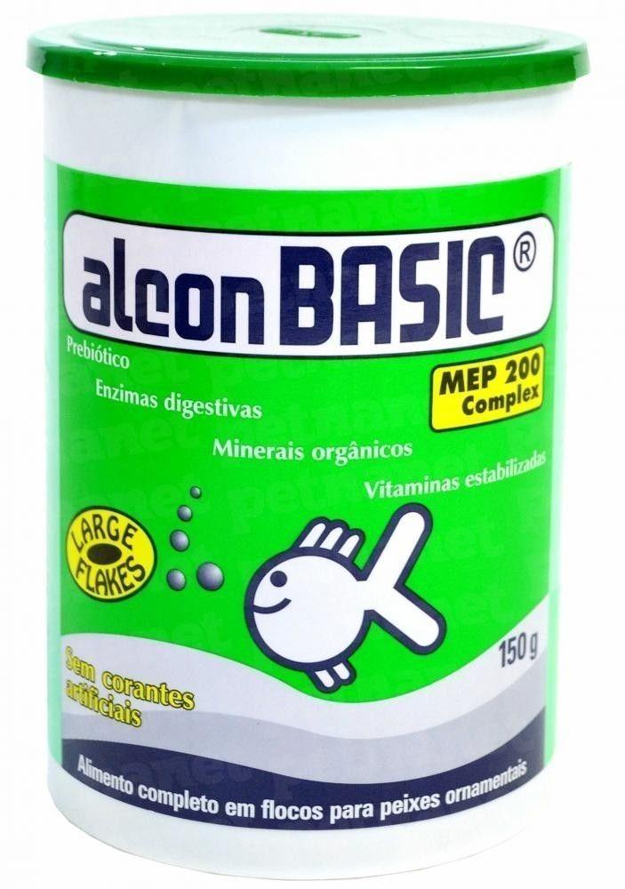 Ração para Peixes Alcon Basic  150gr