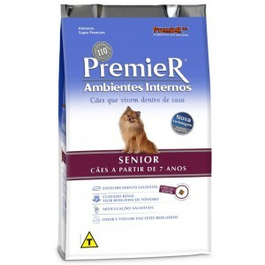 Ração Premier Ambiente Interno Senior para Cães Adultos