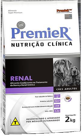 Ração Premier nutrição clínica Renal 2kg