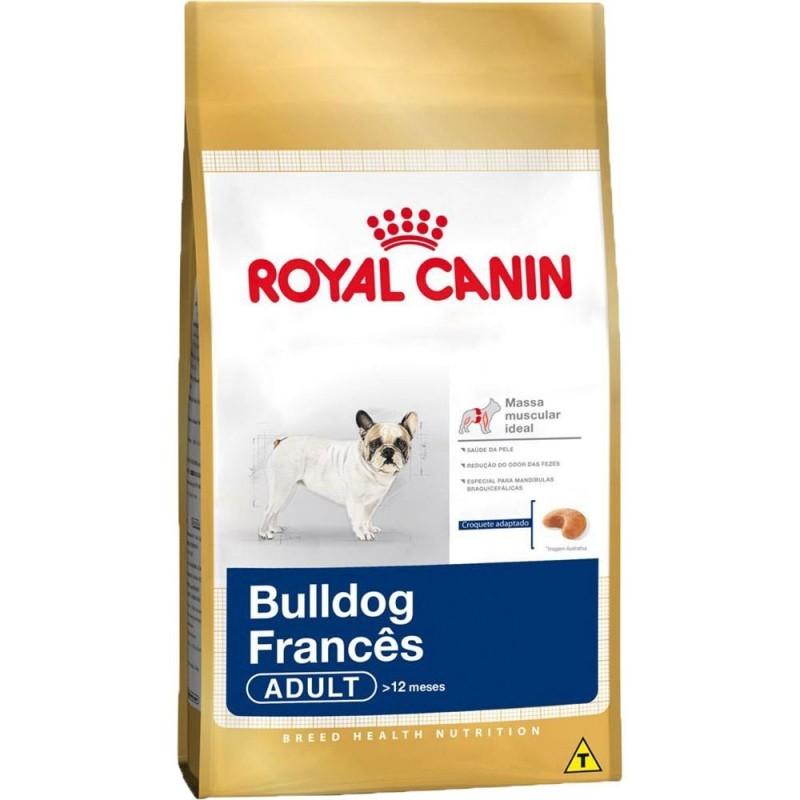 Ração Royal Canin Bulldog Francês Adulto