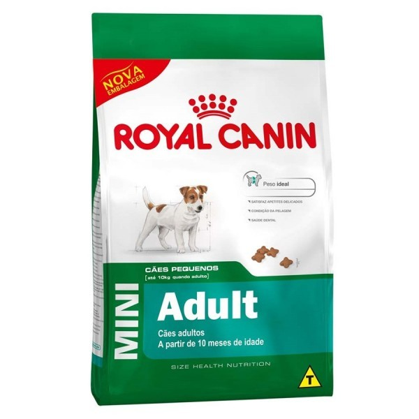 Ração Royal Canin Mini Adult para Cães Adulto da Raças Pequenas