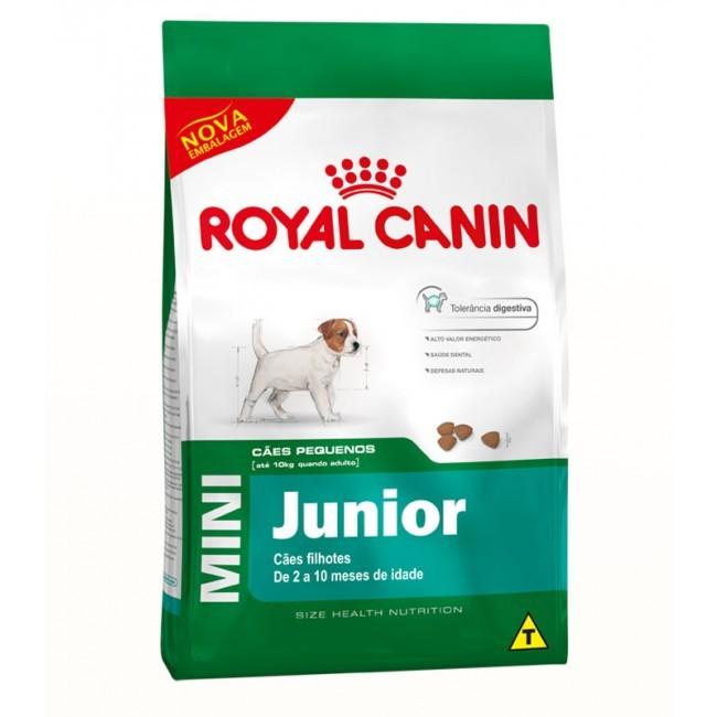 Ração Royal Canin Mini  Junior para Cães Filhotes