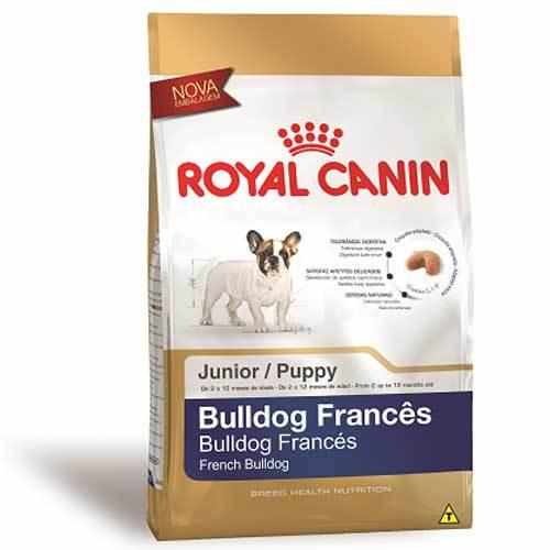 Ração Royal Canin para Cães Filhote Bulldog Frances Junior 2,5Kg