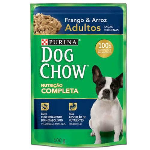 Ração úmida para cães adultos raças pequenas 100 gramas Frango e Arroz
